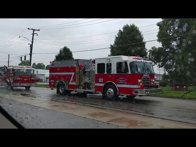 New Haven IN fire muster parade! 2018