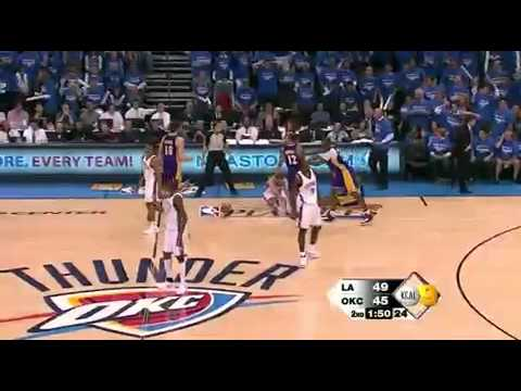 2010 NBA Playoffs Lakers vs Thunder Game 6 Highlights