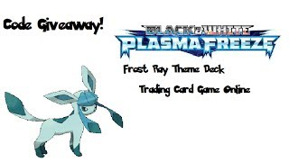 Pokémon frost ray theme deck code giveaway CLOSED
