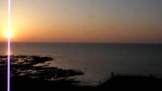 Coucher de soleil à Saint Pierre en Port