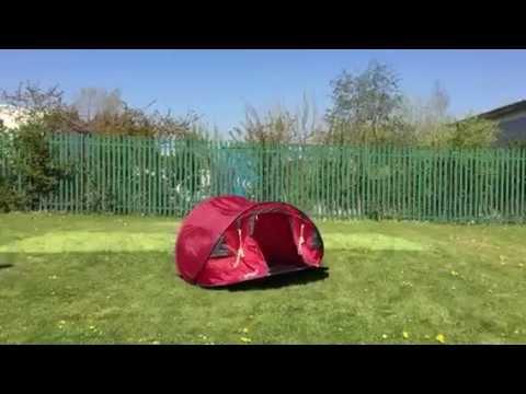 super popular c2aba 04571 Gelert Quick Pitch Deluxe 3 Tent 2015