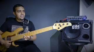 Mustapha Bouchou plays the EBS Reidmar 502 amp