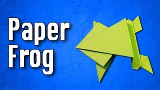 Origami Frog | How to make a Paper Frog
