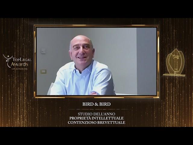Giovanni Galimberti, Bird & Bird - TopLegal Awards 2020