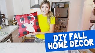 DIY FALL HOME DECOR // Grace Helbig