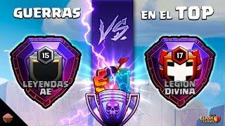 """Guerra en el TOP """"Leyendas AE vs Legion Divina"""" Episodio #3"""
