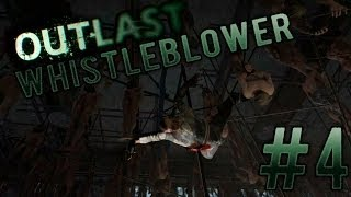 Прохождение Outlast DLC Whistleblower (#4 ФИНАЛ - Куча трупов и жених-маньяк)