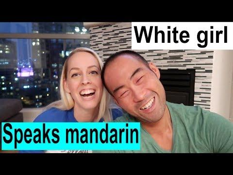 White girl speaking mandarin. Weekly AMWF Q&A