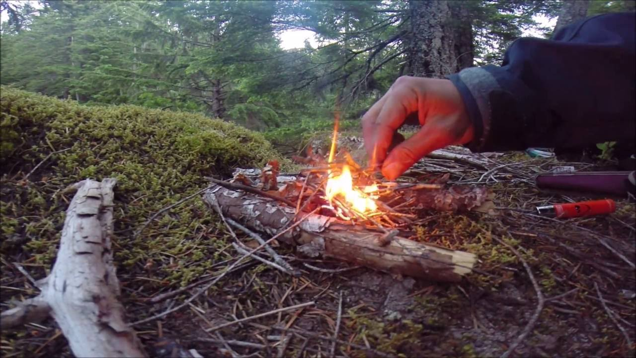 how to make a small fire