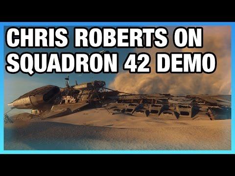 Chris Roberts on Squadron 42 Demo, CitizenCon, Planets