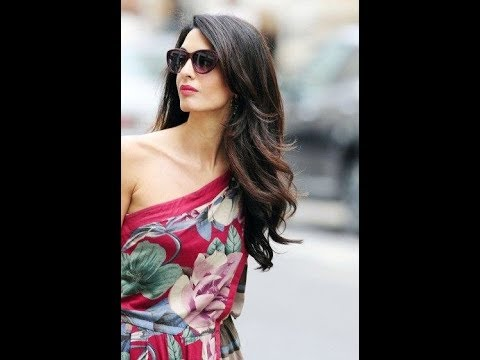 The Super Chic and Classy Outfits of Beautiful Amal Clooney (Amal Alamuddin).
