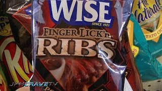 Wise Finger Lick'n Ribs Potato Chip Review