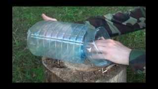 уроки выживания  ловушка для рыбы.avi.