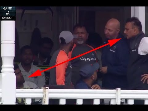 Fight Between Shastri & Ashvin....Ravi Shastri Angry When R. Ashwin left Out of The Field