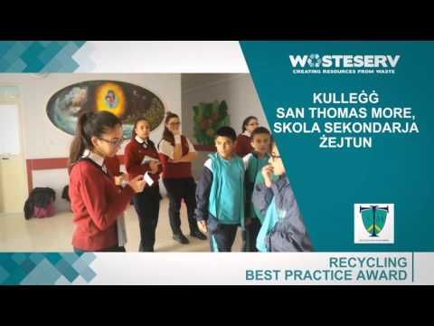 Malta Waste Reduction Awards 2015 - Nominees for Recycling Category (Part 1)