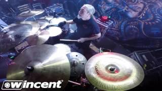 tomas haake wincent drumcam spotlight