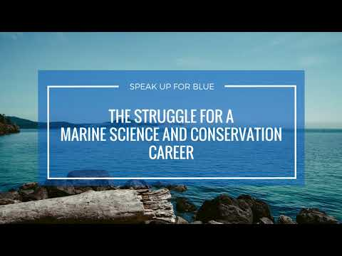 The Struggle To Building A Career In Marine Science And Conservation
