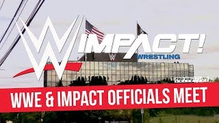 WWE & IMPACT Officials Have Meeting At WWE HQ