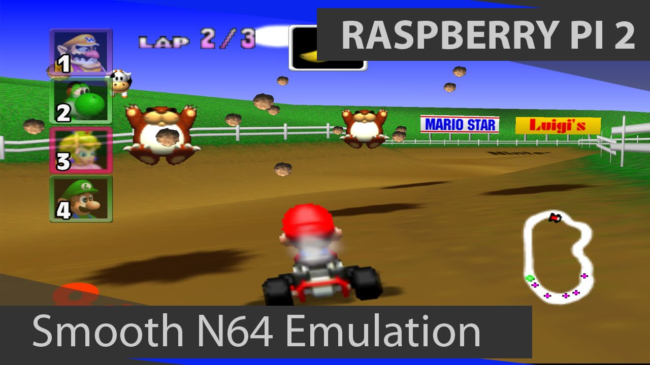 Raspberry Pi 2 N64 Emulation: Smooth Nintendo 64 Emulation using RetroPie