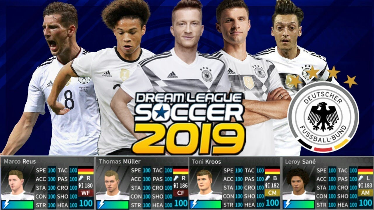 DREAM LEAGUE SOCCER 2019 Hack Germany 6 07 No Root (All