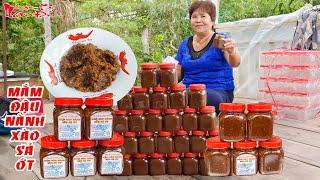 Đặc Sản Truyền Thống Mắm Đậu Nành Xào Sả Ớt Món Ăn Chay Hấp Dẫn Của Ông Bà 5 Châu Đốc | NKGĐ