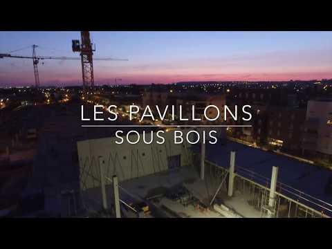 L entreprise PEDUZZI du groupe LIVIO à Pavillons sous bois en drone
