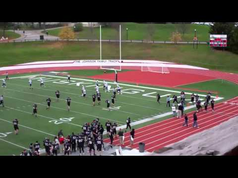 Muskingum football vs. Capital (Senior Day - 11/3/12)