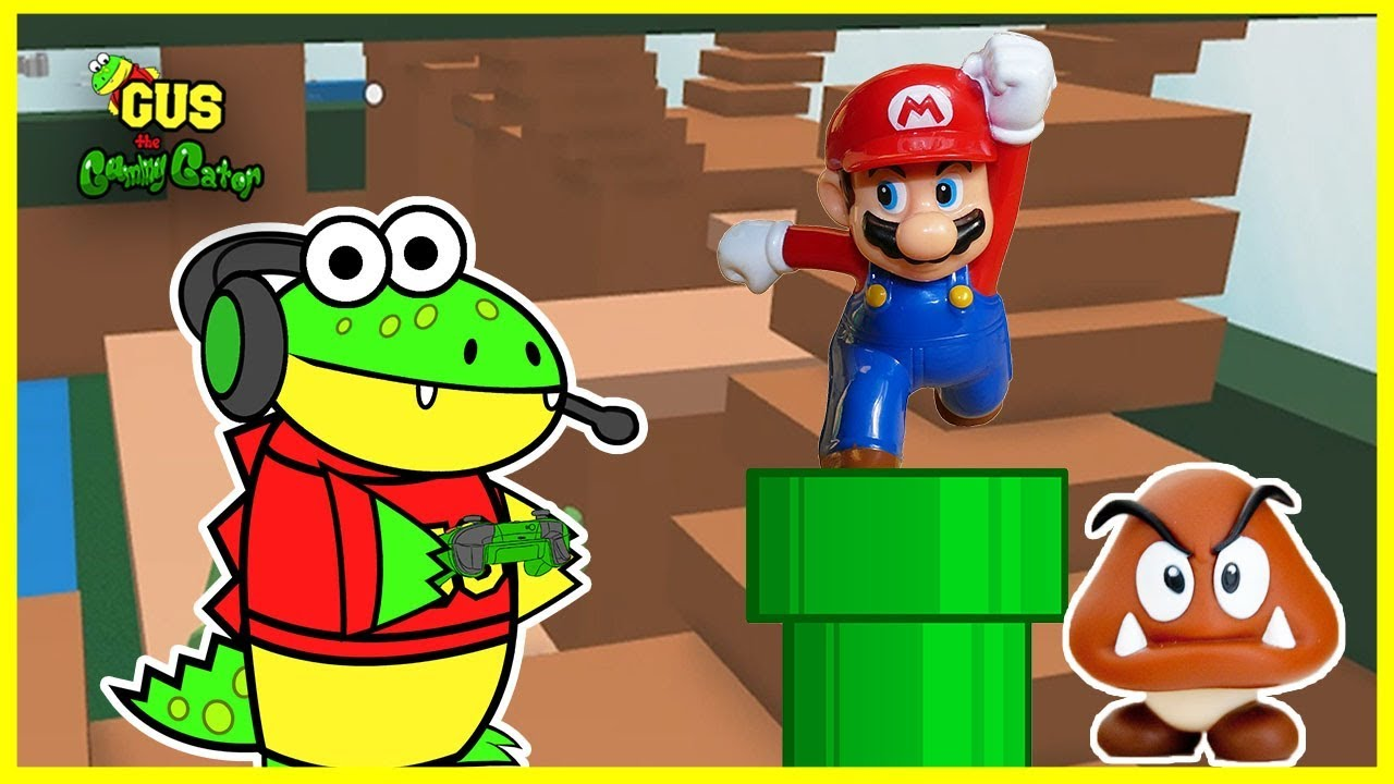 roblox let u0026 39 s play mario obby with gus