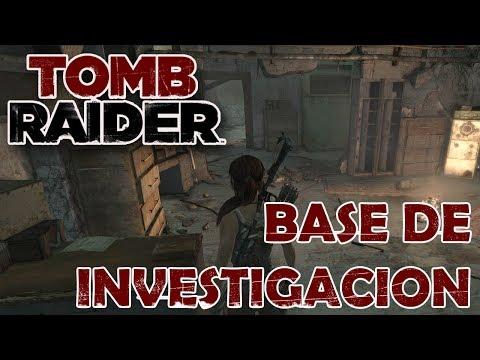 TOMB RAIDER Vídeo-Guía En Español - Base De Investigación