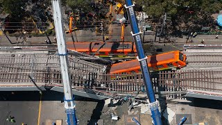 video: Mexico City metro overpass collapses, killing 23 people