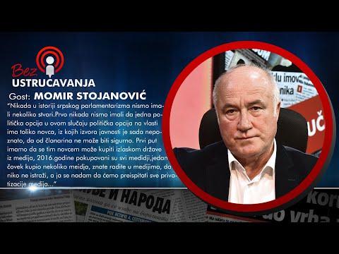 BEZ USTRUAVANJA - Momir Stojanovi: Samo lud ovek moe da kae da treba da gajimo odnose sa NATO!