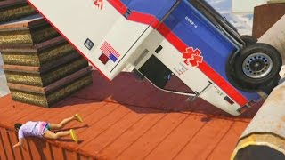 CORRES O MUERES - DEATH RUN GTA V ONLINE PS4