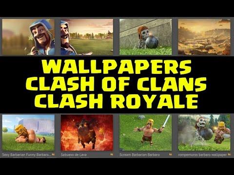 Fondos de Pantalla de Clash of Clans y Clash Royale | Wallpapers