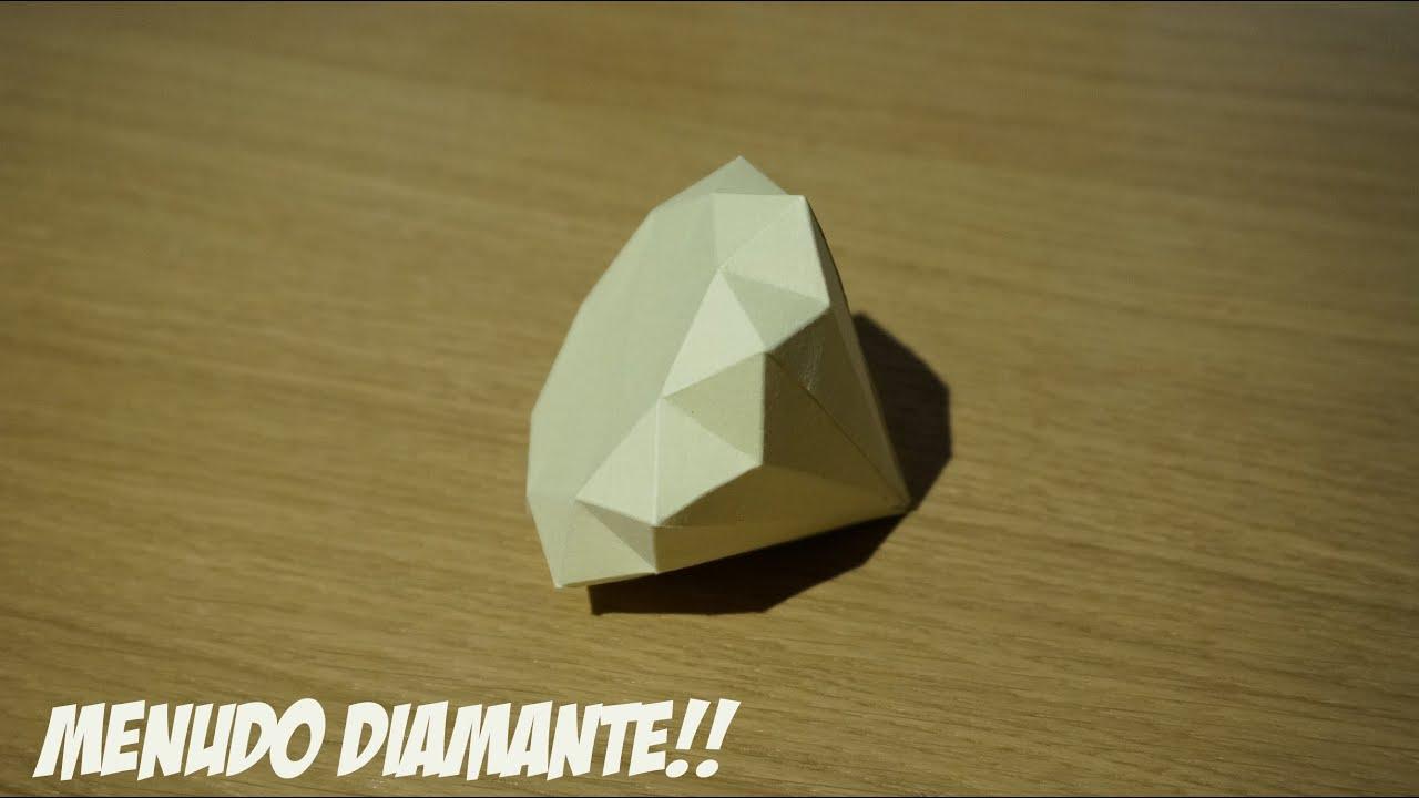 HAZLO TU MISMO - DIAMANTE DE PAPEL - Ricardo Zafra - YouTube