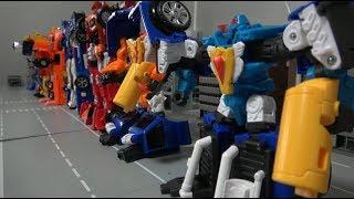 헬로카봇 럭키펀치와 로봇 장난감 변신 Hello Carbot Lucky Punch Robot Toys