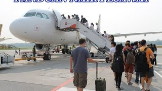 Panduan checkin hingga naik pesawat
