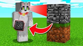 Paso Minecraft pero Consigo los Bloques que Miro 😱😂 Invictor y Acenix