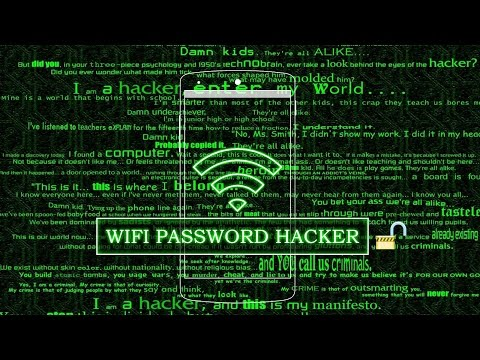 HACK ANY WIFI PASSWORD USING NOTEPAD & CMD