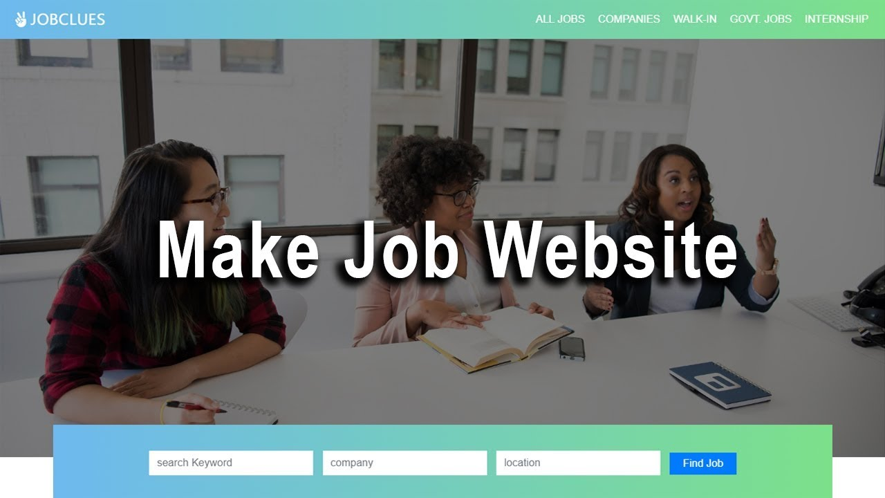 How To Make Website Using HTML CSS And Bootstrap   Complete Website Tutorial