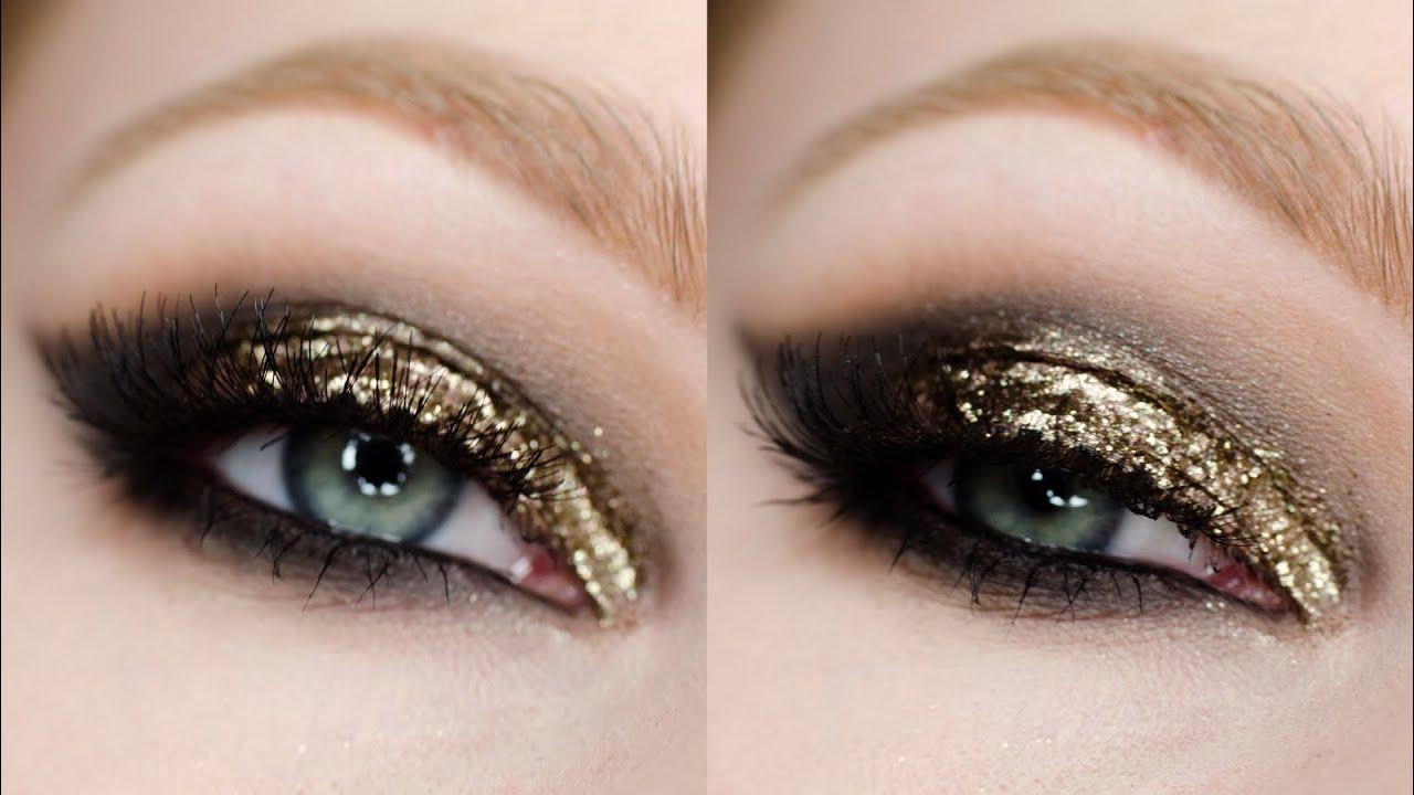 Makijaż Wieczorowy Z Brokatem Makeup Tutorial Jak Aplikować