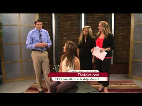 The Joint ...the chiropractic place on Colorado's Best - Live TV Segment