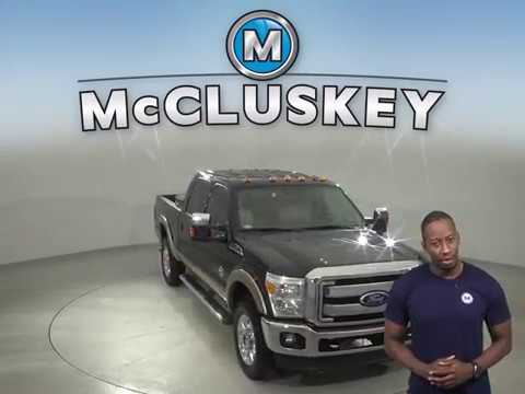 A13887QT Used 2011 Ford F-250 HD Truck Black Test Drive, Review, For Sale -