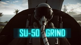 SU-50 GRINDING - JET DOMINATION#12 ► Battlefield 4 Jet Tips & Live Comms