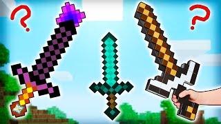 Minecraft - 8 Cosas que NO Sabías de la ESPADA - Rabahrex
