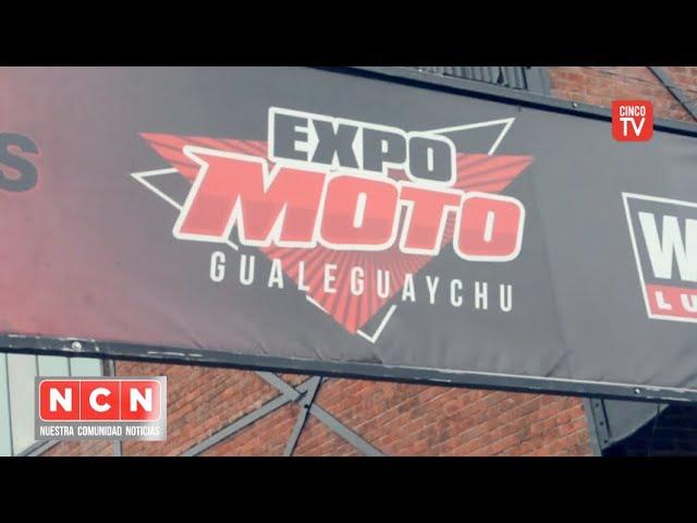 CINCO TV - Se realizó Expo Moto en Gualeguaychú, Entre Ríos un espectáculo deslumbrante
