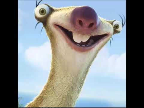 Out Sloth Sid Tongue 1