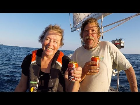 Ep 75 | First Night Passage, High Winds and Big Seas, Sailing Nutshell