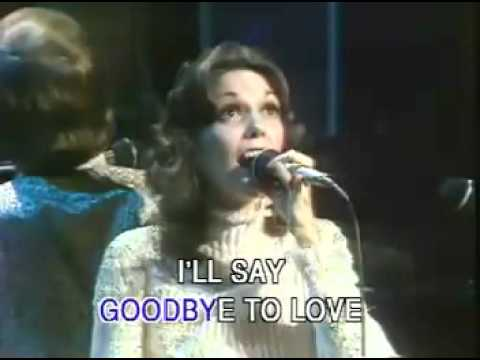 The Carpenters - Goodbye to love