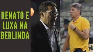 Renato Gaúcho precisa explicar o que se passa com o Grêmio e Luxemburgo se contradiz