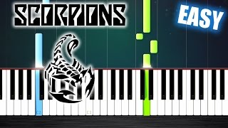 Scorpions - Wind Of Change - EASY Piano Tutorial by PlutaX